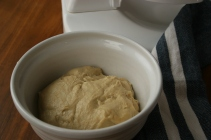 fully mixed dough